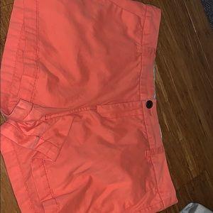 Coral shorts!